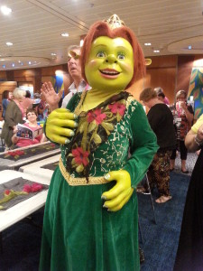 Even Princess Fiona loves wearing felt!