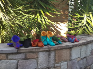 Slipper class with Wendy Bailye at Jumpers and Jazz in Warwick