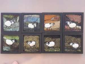 Sheepy Brooches by Wendy