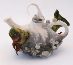 Colorado Cutthroat Trout Teapot front copy
